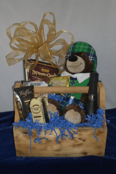 Sports-Enthusiast-Gift-Basket-ALS-Donation-Basket-unwrapped