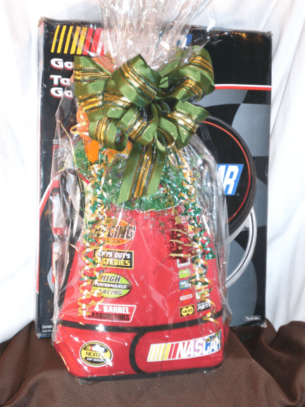 Sports-Enthusiast-Gift-Basket-Nascar-Special-wrapped-version-only