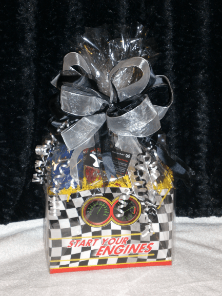 Sports-Enthusiast-Gift-Basket-Start-Your-Engines-wrapped-version