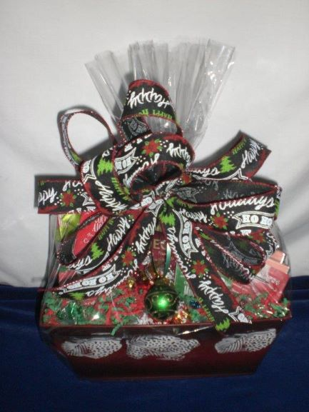 Christmas Pine Cones - wrapped version