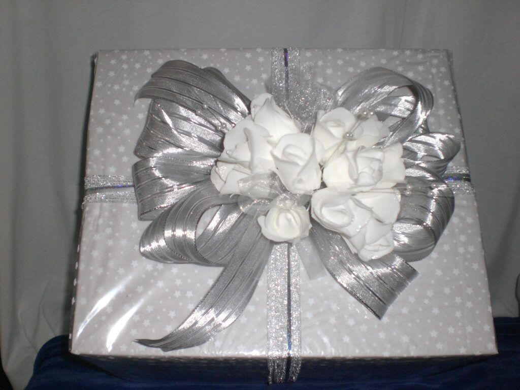 A customer service offered - gift wrapping