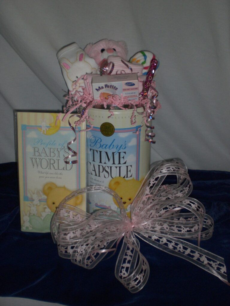 Baby Time Capsule - unwrapped version only