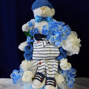 A New Baby Boy Creation - Diaper Cake