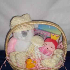 Baby Girls 1st Christmas - unwrapped version