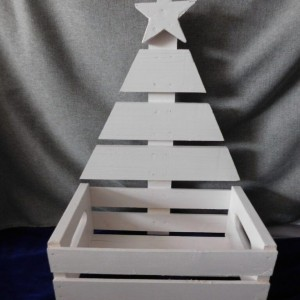 Charming - newly created wooden Christmas Tree holder