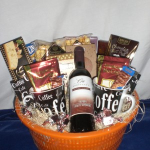 Coffee Surprises - unwrapped version - donated to the Y Dream Home Event
