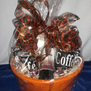 Coffee Surprises - wrapped version - donated to the Y Dream Home Event