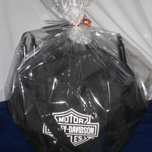 Always Harley Davidson - BBQ grill cover for this basket