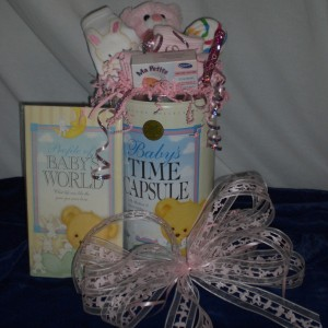 Baby Time Capsule - unwrapped version