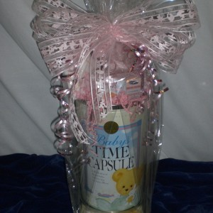 Baby Time Capsule - wrapped version