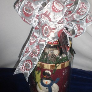 Christmas Cookie Jar - wrapped version
