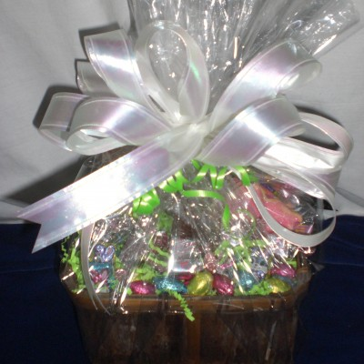 Easter Wishes away from home - wrapped version