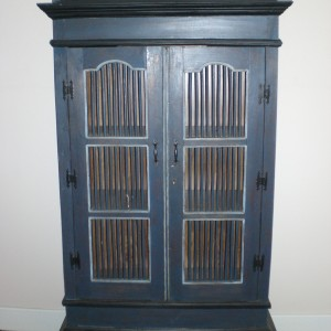 Pie Cabinet - Distressed Finish