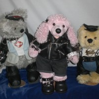 Prep at Studio - Harley Davidson Bears complete with Gothic Items